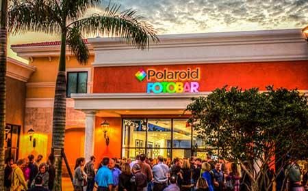 polaroid fotobar florida opening