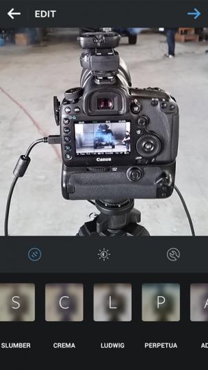 No Filter Instagram Example