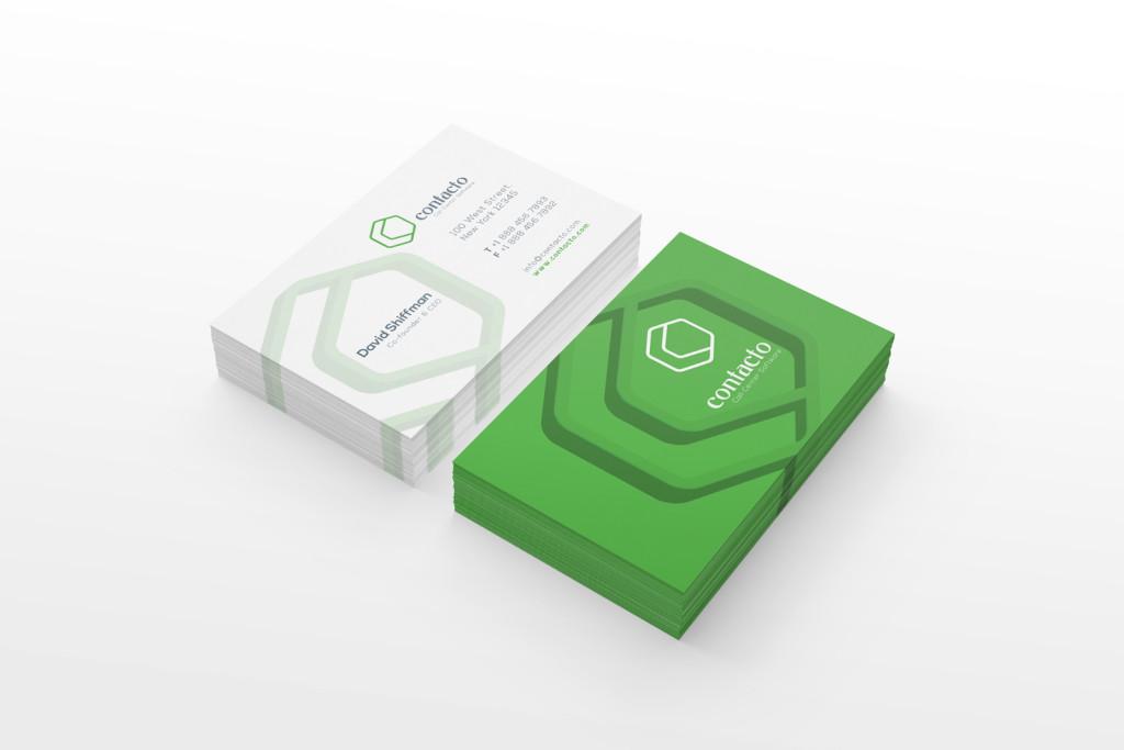 contact call center logo concept 4