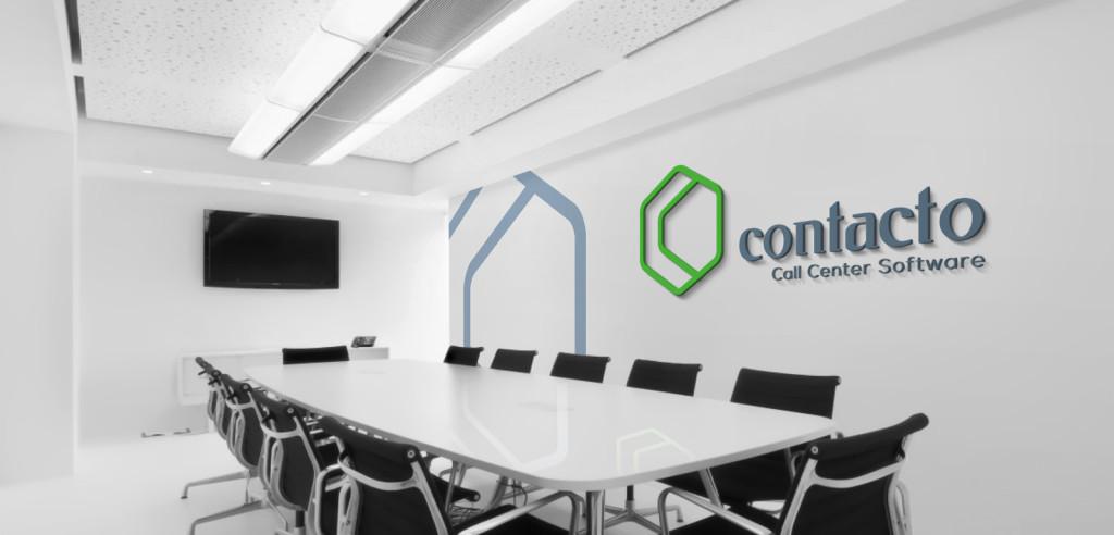 contact call center logo concept 6