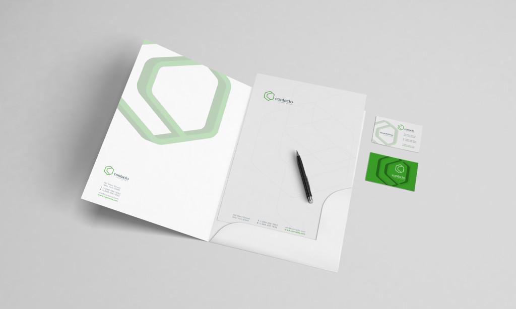 contact call center logo concept 7