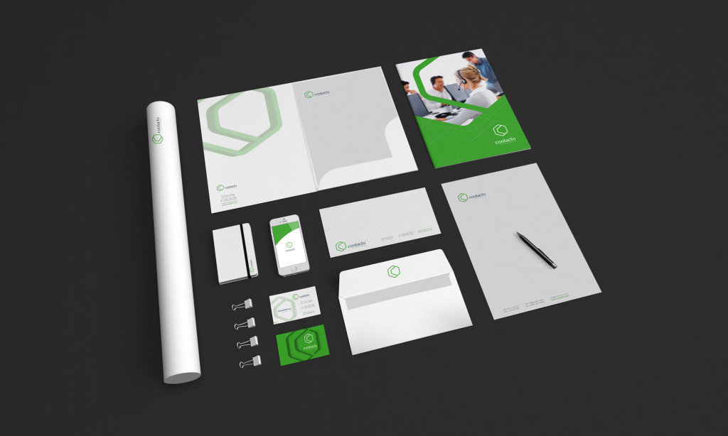 contact call center logo concept 8