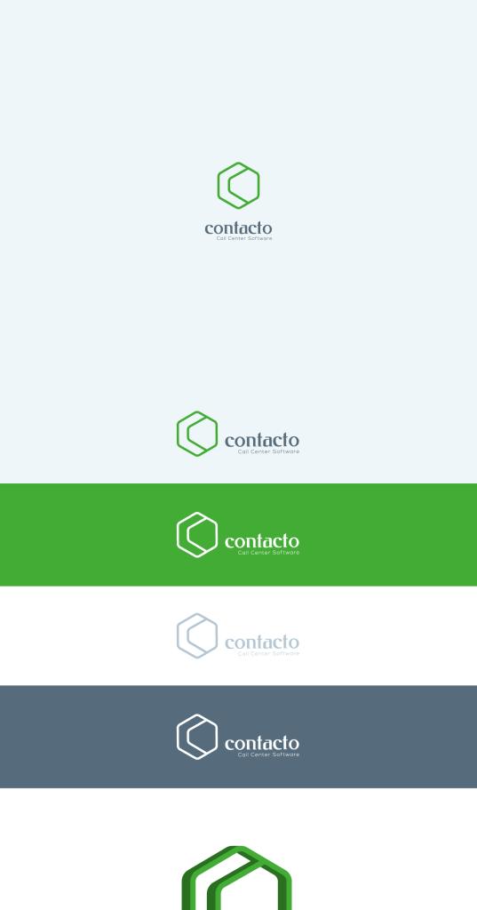 contact call center logo concept 1