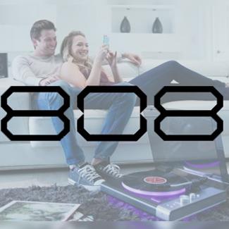 808 audio speakers