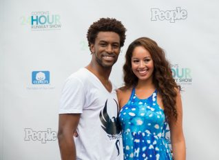 step and repeat event