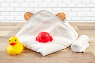 baby product photos towel