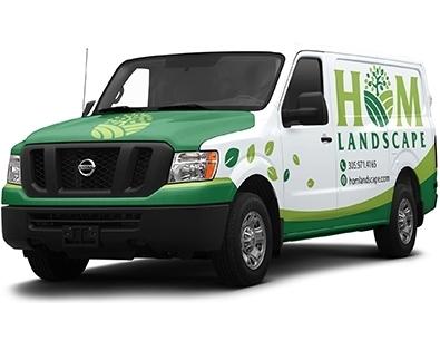 HOM Commercial Landscaping Branding